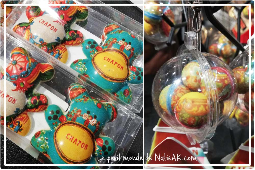 Chapon nounours de Noël en chocolat
