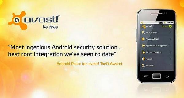 aplikasi antivirus android avast