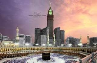 Tower Royal Clock di Mekah, Arab Saudi