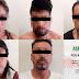 ASEGURA PGJE A CINCO PERSONAS CON 20 ENVOLTORIOS DE DROGA SINTÉTICA