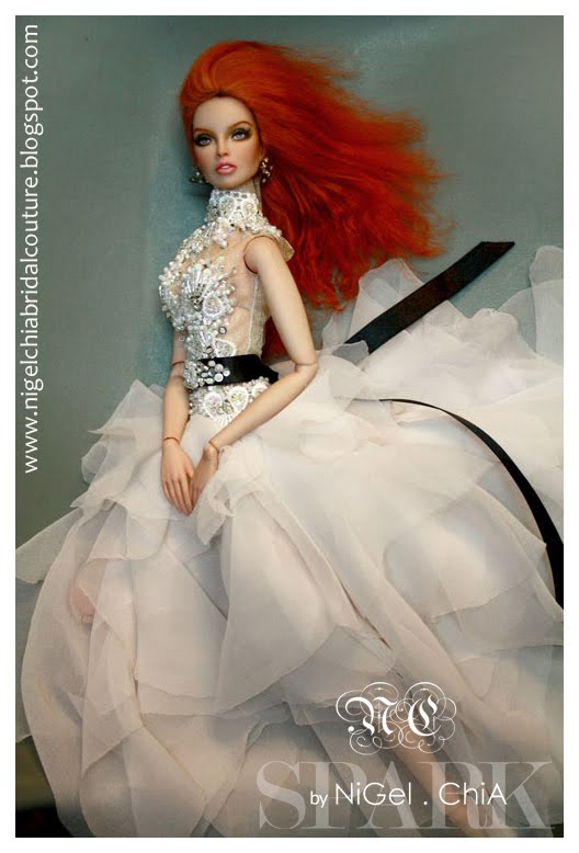 Nigel Chia A Fashion Design Victim Valentine S 1st Bridal Couture Spark