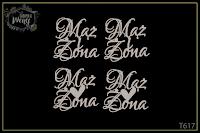 http://fabrykaweny.pl/pl/p/Tekturka-napis-ozdobny-Maz-i-Zona-4-sztuki-/1046