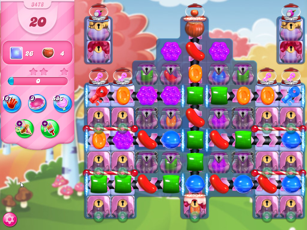 Candy Crush Saga level 3478