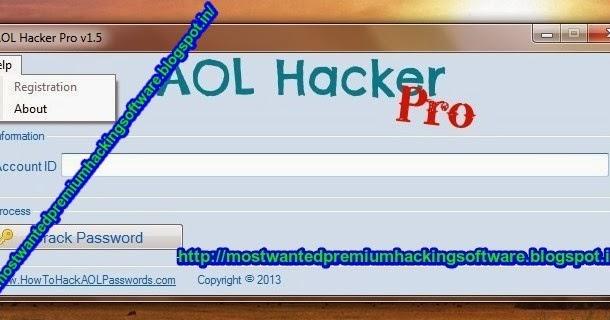 Aol hacker pro Serial