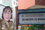 SD Negeri 06 Manado Tidak Patah Semangat, Selalu Melayani Penerimaan Siswa Baru