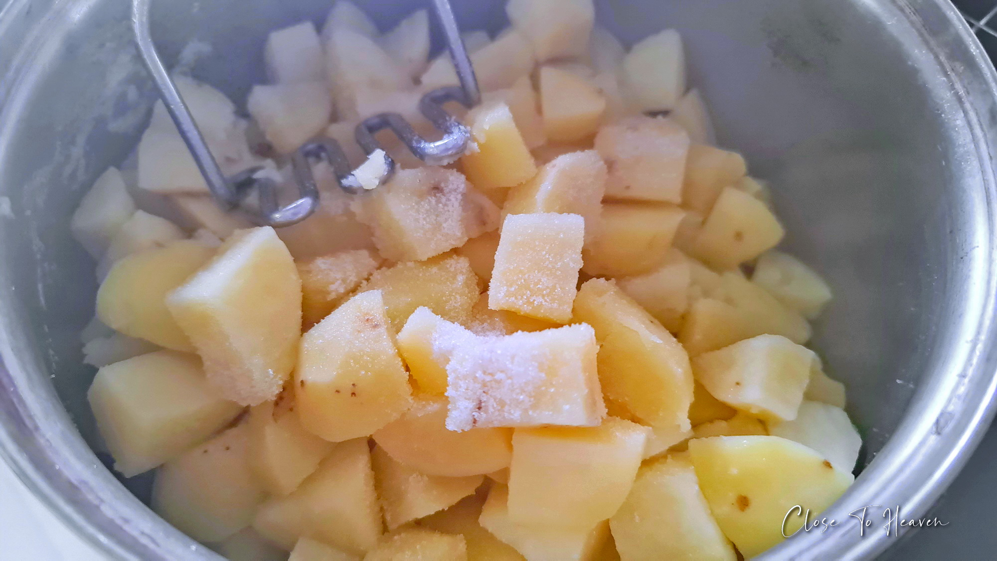 Mashed potatoes มันบด ทำเองก็ได้ ง่ายจัง