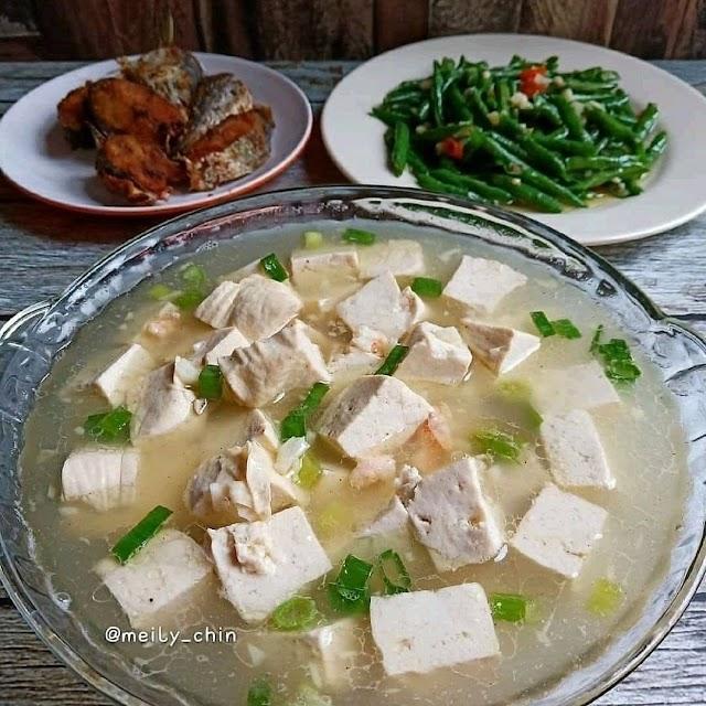 Sup Tahu - Resep Olahan Tahu Lombok Ijo