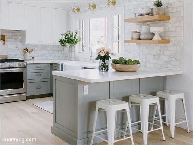 مطابخ امريكانى مفتوح على الريسبشن 14   American kitchens Opened To Reception 14