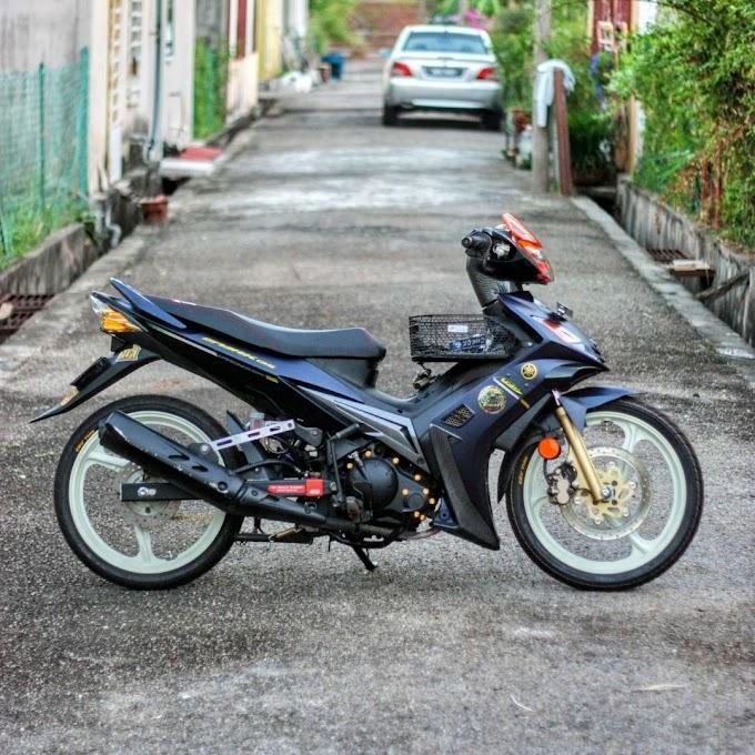 Cara Pasang Brake Disc Belakang Yamaha LC