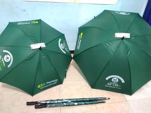 Sablon Payung Pegadaian