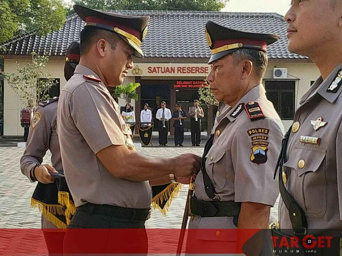 Kapolres Pimpin Serah Terima Jabatan, Tiga Pejabat Utama Polres Jepara