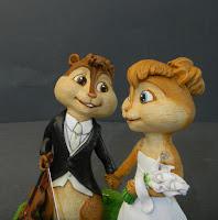 statuine matrimonio personalizzate personaggi cartoni animati orme magiche