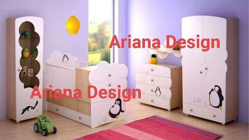 تصميم غرفة اطفال البطريق cdr