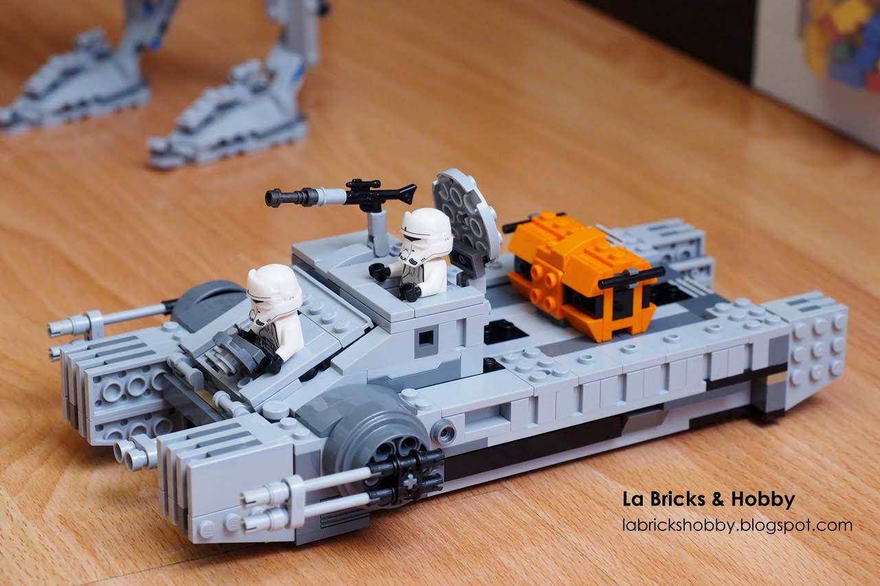 Lego Imperial Hover Tank Build