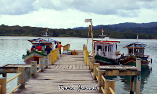transportasi laut selama wisata ujung kulon