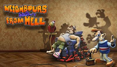 تحميل لعبة الجار المزعج جميع الأجزاء Neighbours from Hell 1 2 3 4 5 6