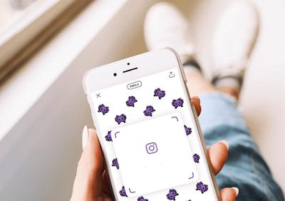 Cara Membagikan Nametag Instagram ke Media Sosial Lain