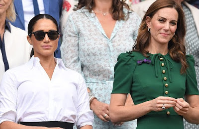 """Meghan Markle told friends """"changes would have been made"""" if Kate Middleton were bullied by tabloids"""
