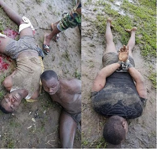 Ex Militants Arrest Suspected Killers of Soldiers in Nembe, Bayelsa, See Photos
