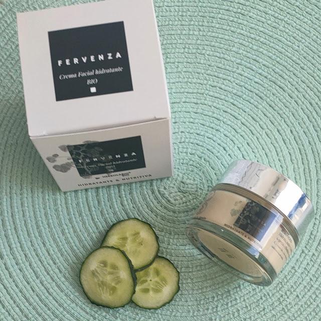 HIdratante Fervenza de cosmética natural gallega