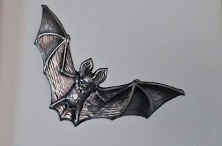 Inspiracje na Halloween naklejki nietoperze z tedi