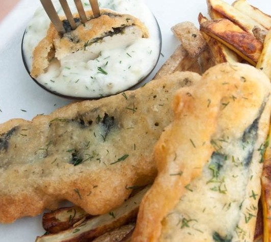 VEGAN TOFISH AND CHIPS RECIPE #vegetarian #appetizers