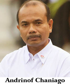 Gambar Menteri Perencanaan Pembangunan Negara, Kepala Bappenas Andrinof Chaniago
