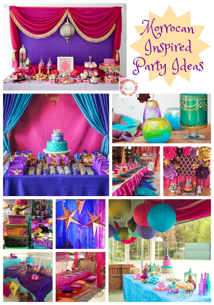 Moroccan Inspired Party Ideas