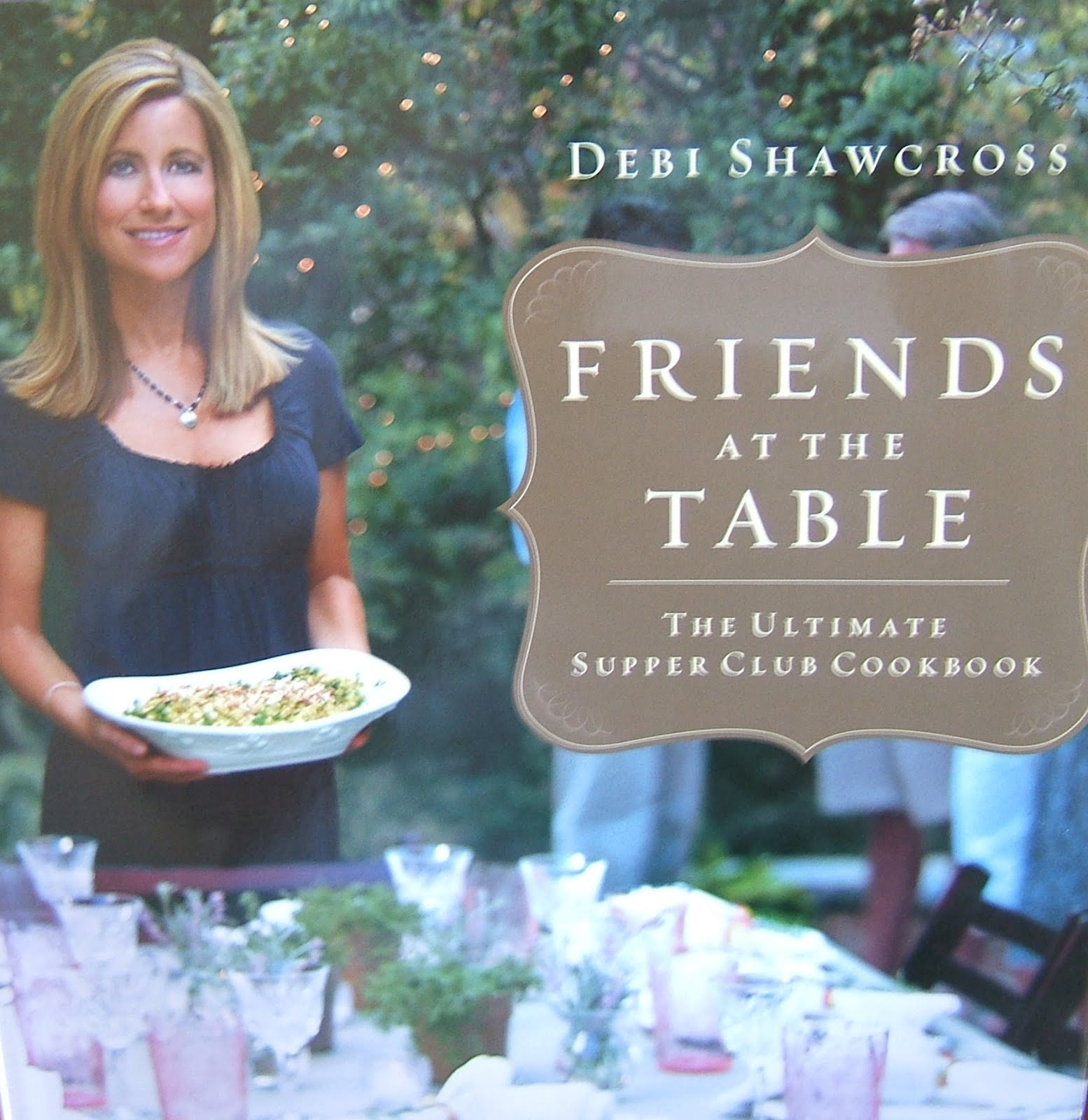 I Won the Friends at the Table Cookbook