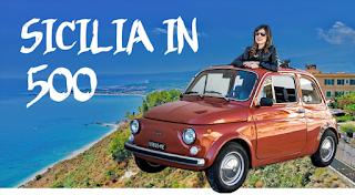 """AL VIA """"SICILIA IN 500"""", IL NUOVO PROGETTO DELLA TRAVEL BLOGGER VERONICA CROCITTI"""