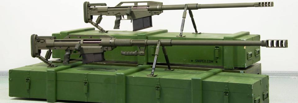 14,5-мм гвинтівки Snipex T-REX і ALLIGATOR прийняті на озброєння ЗСУ