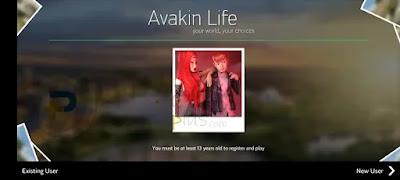 انشاء مستخدم جديد لعبة Avakin Life