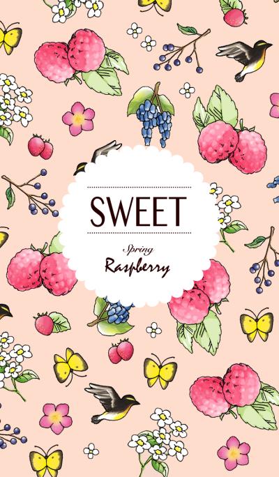 SWEET Spring Raspberry
