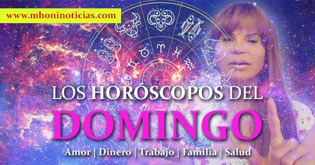 Los Horóscopos del DOMINGO 13 de SEPTIEMBRE del 2020 - Mhoni VIdente
