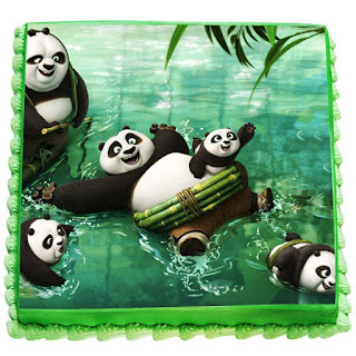 Kung Fu Panda Cakes