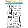 Honey Bee BLESS YOUR HEART Stamp Set