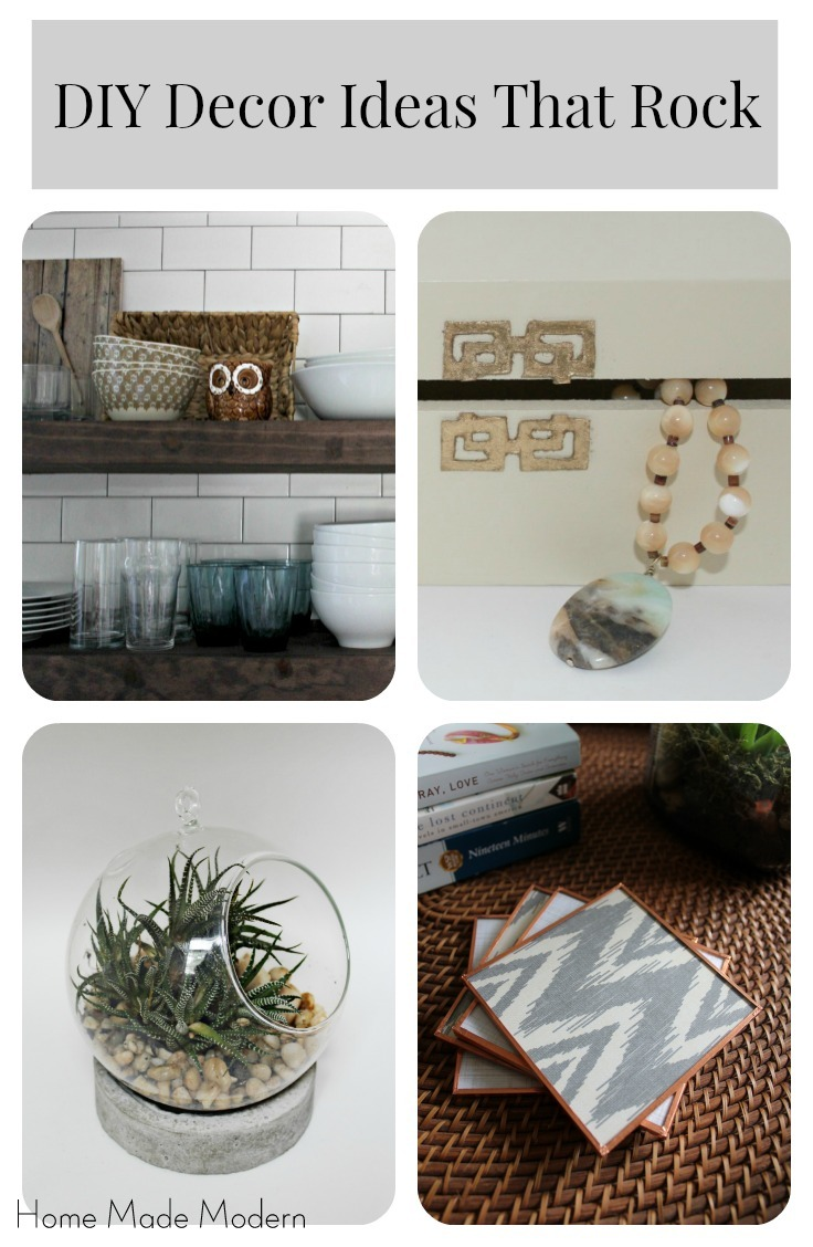 My Favorite DIY Decor Ideas of 2015 - Home Made Modern