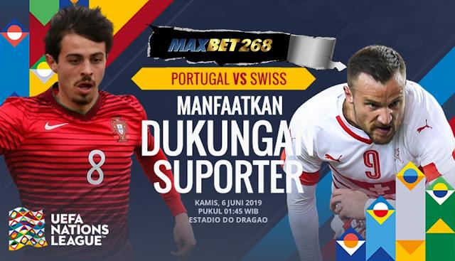 Prediksi Bola Portugal Vs Swiss, Kamis 06 Juni 2019 Pukul 01.45 WIB