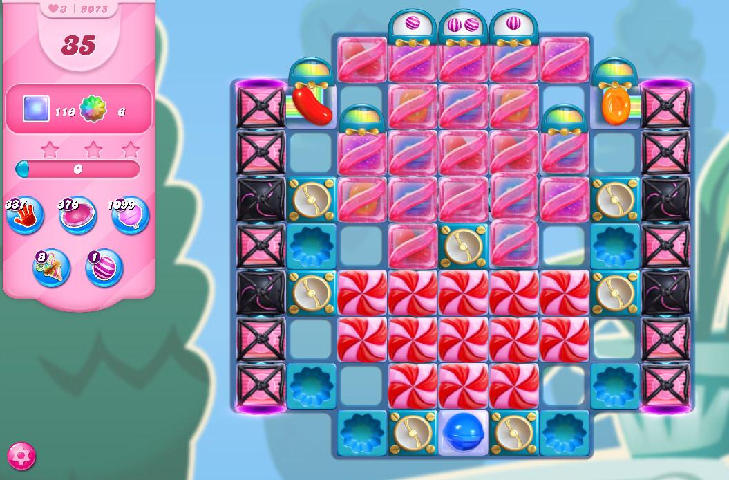 Candy Crush Saga level 9075