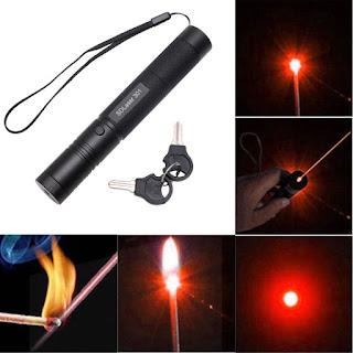 Powerful 5mw 532nm Green Red Laser Pointer Light Pen Lazer Burning Beam & Key