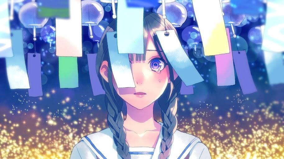 Anime, Girl, Tears, 4K, #6.2603
