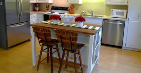 Free Standing Kitchen Islands With Seating
