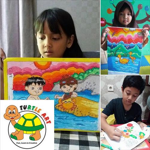 Kursus Menggambar Cimahi Turtle Art Maret 2018