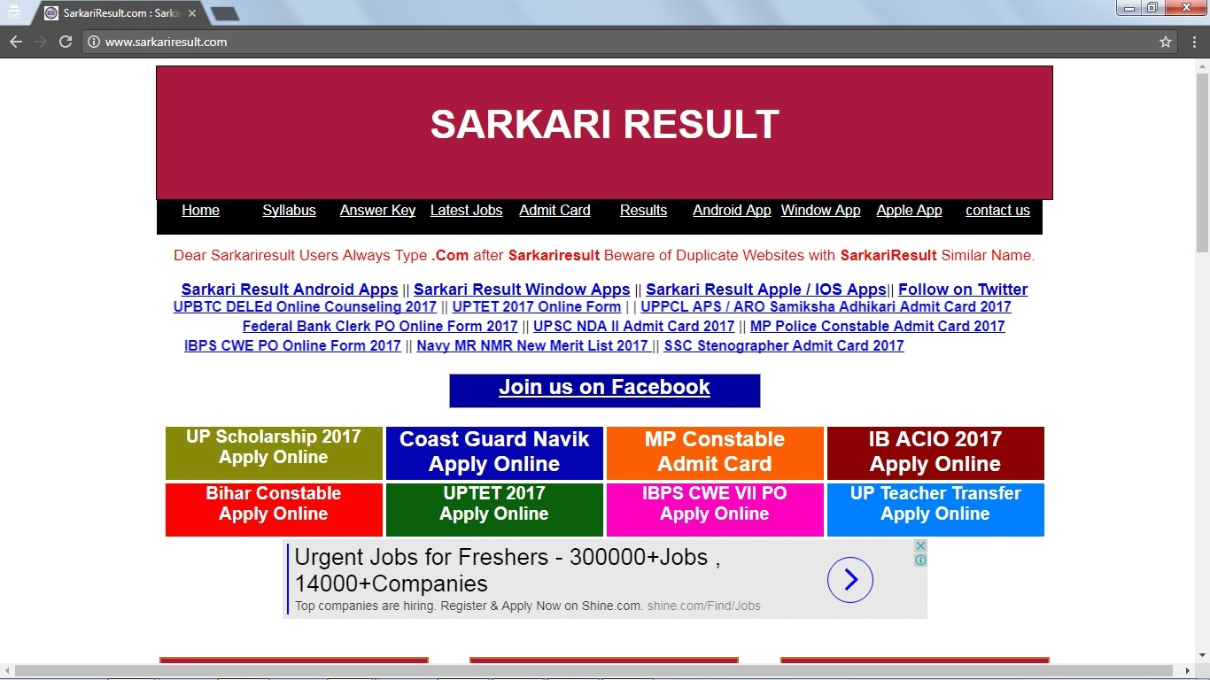 sarkari result in hindi All Informations Sarkari Result In hindi