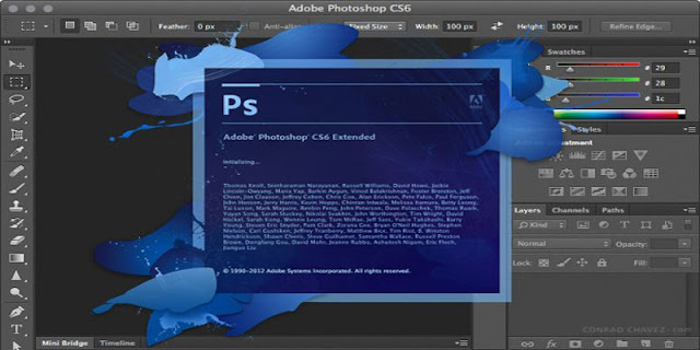 Spesifikasi adobe photoshop CS6