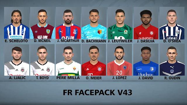 PES 2017 FR Facepack 43 For PC