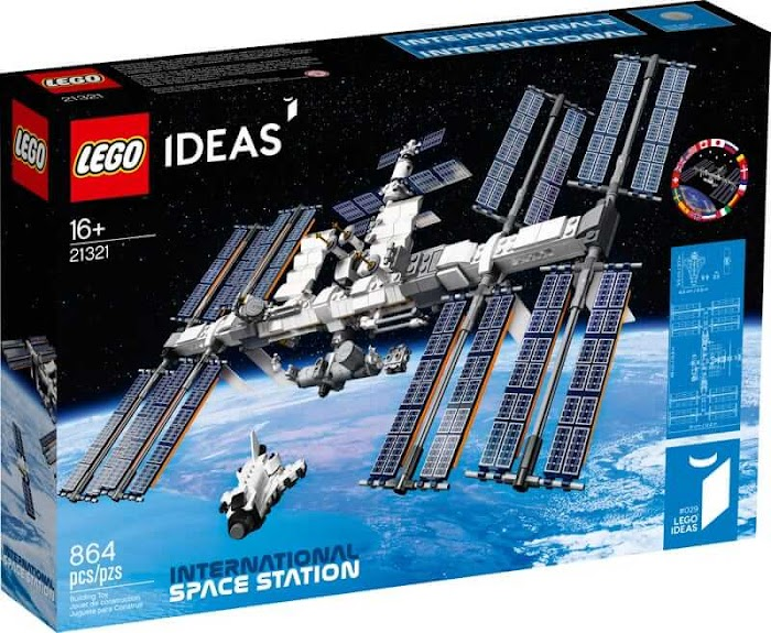 International Space Station LEGO Set Giveaway (Worth Over : $70)