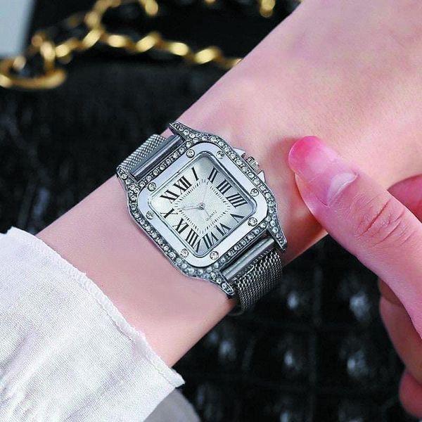 Jam Tangan Wanita Magnet Cartier JA0007
