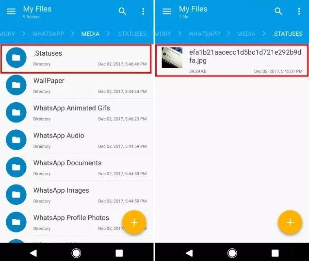 cara menyimpan status whatsapp teman tanpa screenshot