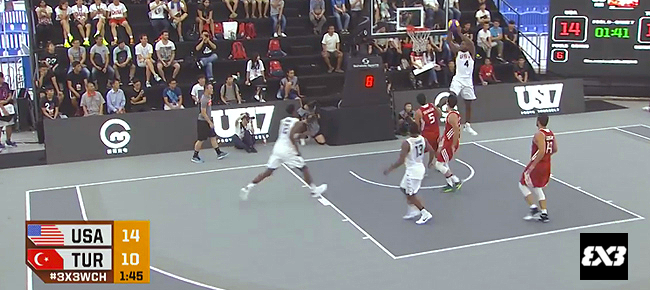Watch the Top 10 Plays from the 2016 FIBA 3x3 World Championships - Day 1 (VIDEO)